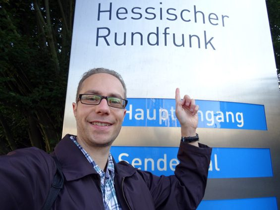 Der Freigeber zu Besuch beim hr. Bild: Jens Brehl CC BY-NC-SA 4.0