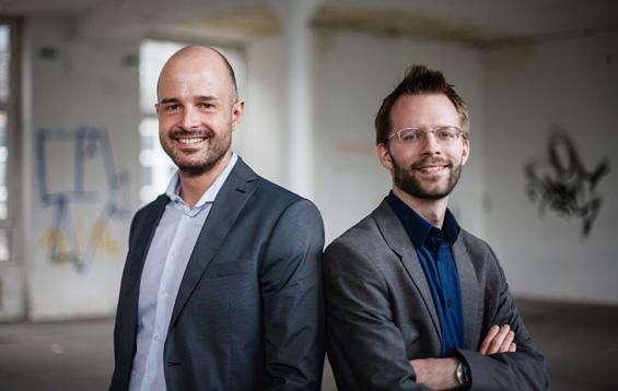 links Jan Filipzik, rechts Florian Schmitz